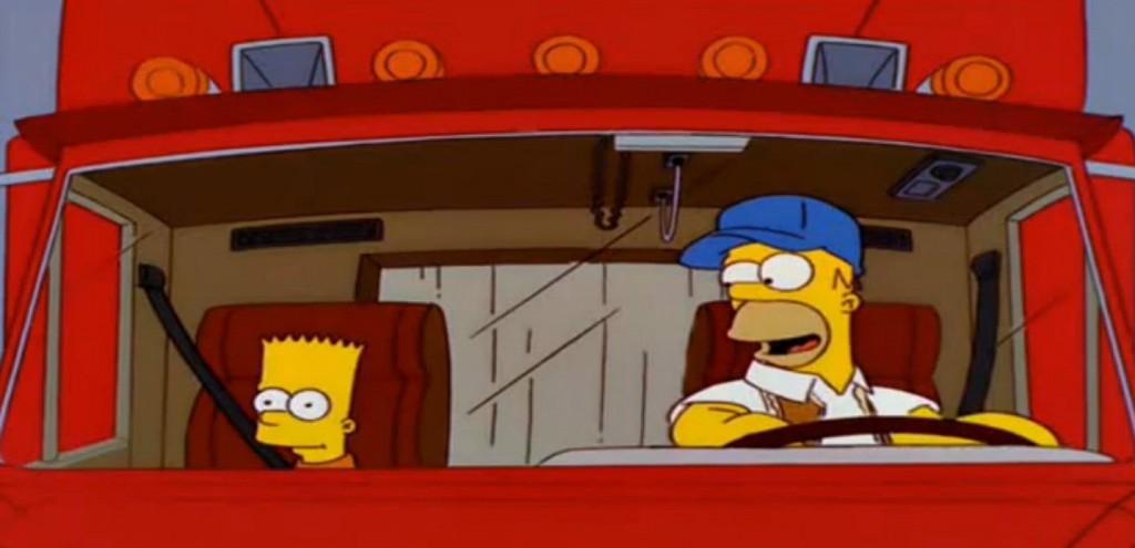 Homer caminhoneiro